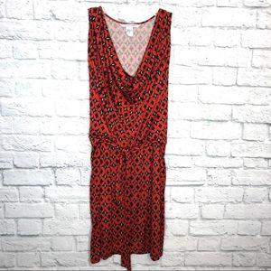 Diane Von Furstenberg Diamond Pattern Dress